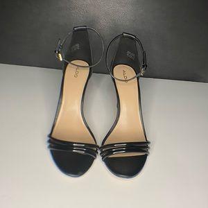 Black Aldo Heels